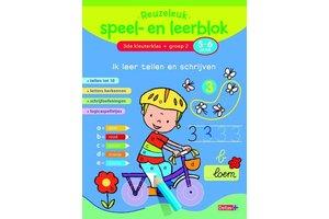 Deltas Reuzeleuk speel- en leerblok (5-6jaar) Ik leer tellen en schrijven