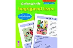 Deltas Oefenschrift begrijpend lezen (AVI 1 - AVI nieuw start) (1ste leerjaar)