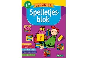 Deltas Leerrijk spelletjesblok (6-8jaar)