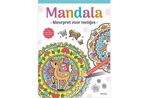 Deltas Mandala - Kleurpret voor meisjes