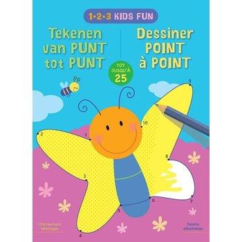 Deltas 1-2-3 Kids Fun - Tekenen van punt tot punt tot 25