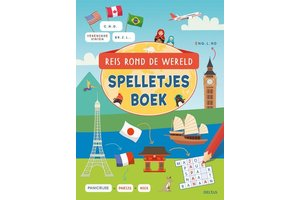 Deltas Reis rond de wereld - Spelletjesboek