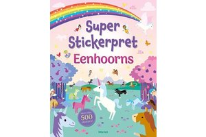 Deltas Super Stickerpret - Eenhoorns