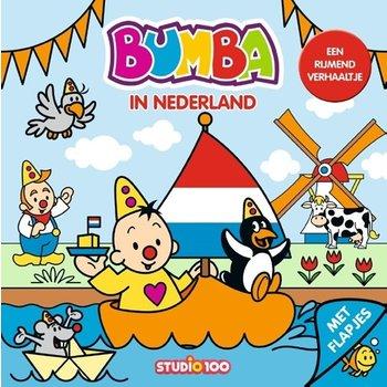 Bumba - Bumba in Nederland (kartonboekje met flapjes)
