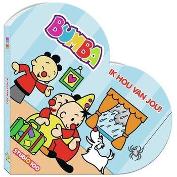 Bumba - Ik hou van je! (kartonboekje in hartvorm)