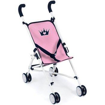 Buggy klein model - kroon roze/blauw