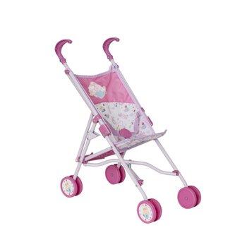 Zapf Baby Born roze Poppenbuggy