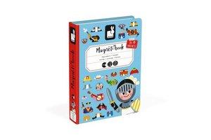 Juratoys Magneetboek - Verkleedfeest jongens
