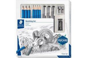 staedtler Mixed Sketching Set - 12-delig