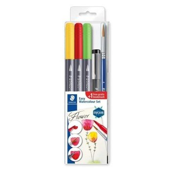 "staedtler Aquarel Set Easy Watercolour ""BLOEM"" - 5-delig"