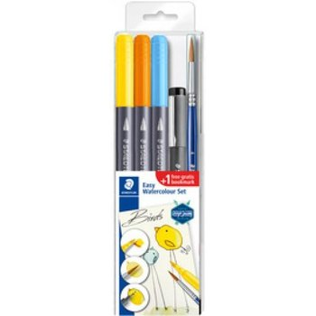 "staedtler Aquarel Set Easy Watercolour ""VLINDER"" - 5-delig"
