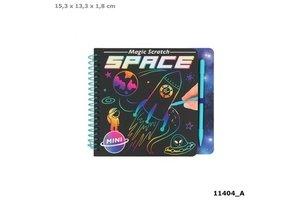 Depesche Mini Magic Scratch Book - SPACE