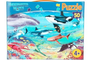 Depesche Dino World - Puzzel 50stuks - UNDERWATER