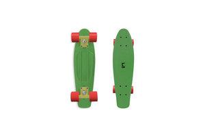 "Maple Leaf Skateboard Old School 22"" - Melon Green"