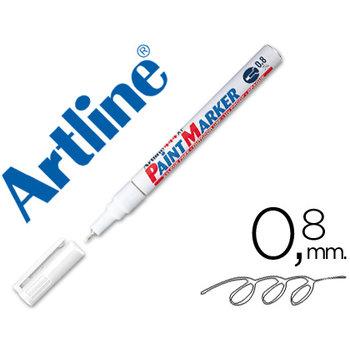 """Artline Permanente Paint Marker """"444XF"""" lijndikte 0.8mm - wit"""