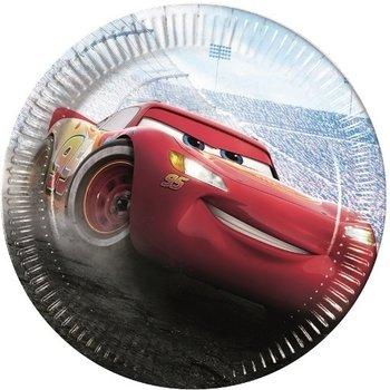 Cars The Legend of The Track - Borden (kartonnen) Ø 23cm - 8stuks