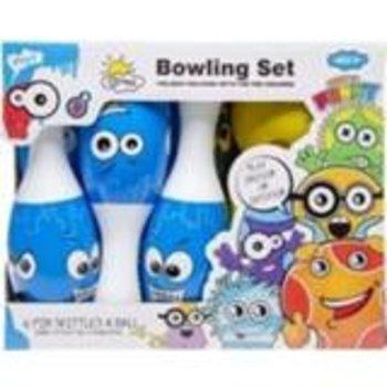 Bowlingset Junior - blauw/wit