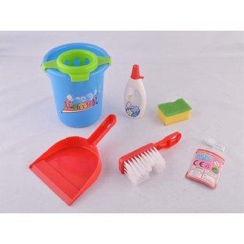 Cleaning + emmer - 6-delig