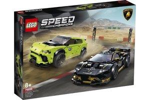 LEGO LEGO Speed C - Lamborghini Urus ST-X & Lamborghini Huracán Super Trofeo EVO