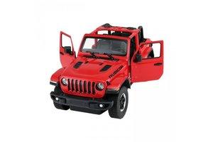 R/C Jeep Wrangler Rubicon - zwart/rood/geel