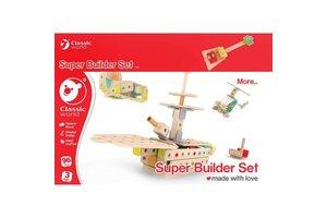 Super Builder Set (hout) - 96stuks