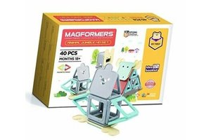Clics Magformers Animal Jumble Set 40-delig