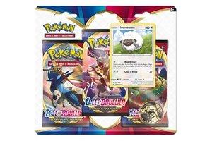 Asmodee Pokémonkaarten Sword & Shield - Day - booster (3-pack) 2020/02