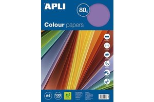 Apli Color Paper A4 80gr/100vel - Intense