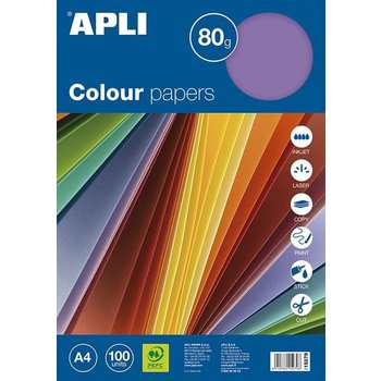 Apli Color Paper A4 80gr/100vel - Intense