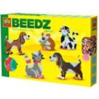 SES Creative Beedz - Strijkkralen Huisdieren