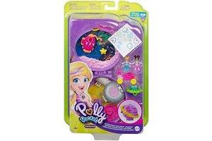 Mattel Polly Pocket Big Pocket World - Saturn Space Explorer Compact