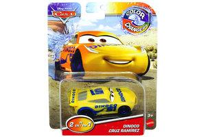 Mattel Disney Cars Color Changers - Dinoco Cruz Ramirez