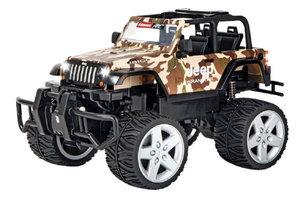 R/C Jeep Wrangler Rubicon - camouflage