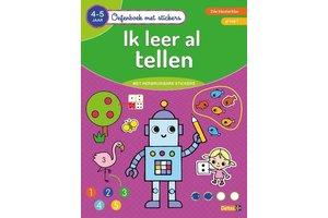 Deltas Oefenboek met stickers - Ik leer al tellen (4-5jaar)
