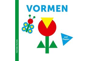 Pientere peuters - Vormen (kartonboekje met flapjes)