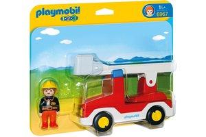 Playmobil PM Brandweerwagen met ladder