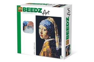 SES Creative beedz art - Vermeer Meisje met de Parel