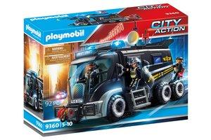 Playmobil PM City Action - SIE-truck met licht en geluid 9360