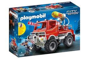Playmobil PM City Action - Brandweerterreinwagen met waterkanon 9466