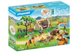 Playmobil PM DreamWorks Spirit Riding Free - Paardenkamp 70329