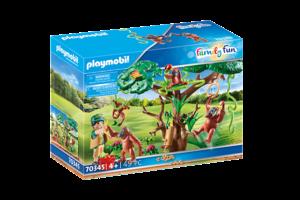 Playmobil PM Family Fun - Oerang-Oetans in de boom 70345