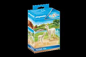 Playmobil PM Family Fun - Alpaca met baby 70350