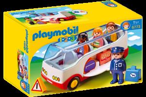 Playmobil PM 1.2.3 - Autobus 6773