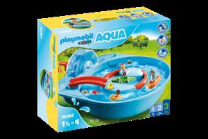 Playmobil PM 1.2.3 Aqua - Vrolijke waterbaan 70267