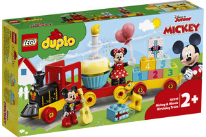 LEGO LEGO DUPLO Disney Mickey & Minnie Verjaardagstrein - 10941