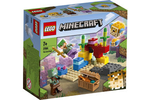 LEGO LEGO Minecraft Het koraalrif - 21164