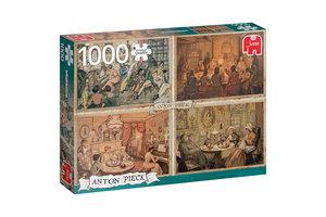 Jumbo Premium Collection Anton Pieck - Living Room Entertainment 1000 pcs Legpuzzel 1000 stuk(s)