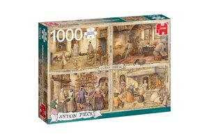 Jumbo Premium Collection Anton Pieck, Bakkers uit de 19e eeuw 1000 stukjes