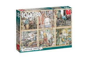 Jumbo Premium Collection Anton Pieck, De Ambachtslieden 1000 stukjes