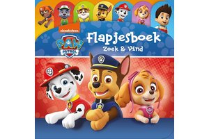 Baeckens Books Paw patrol - Zoek & Vind (flapjesboek)
